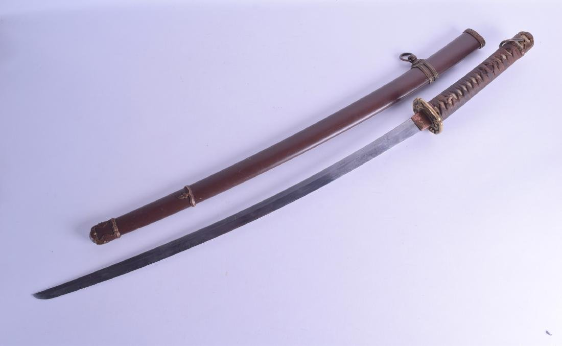 AN EARLY 19TH CENTURY JAPANESE EDO PERIOD SAMURAI SWORD