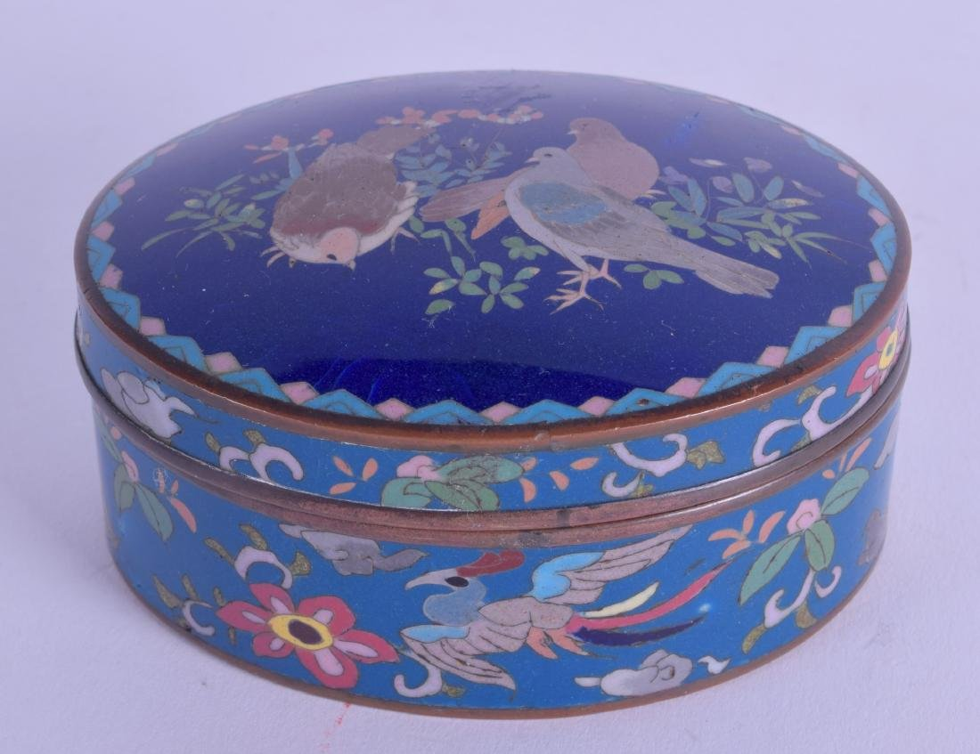 AN EARLY 20TH CENTURY JAPANESE MEIJI PERIOD CLOISONNE