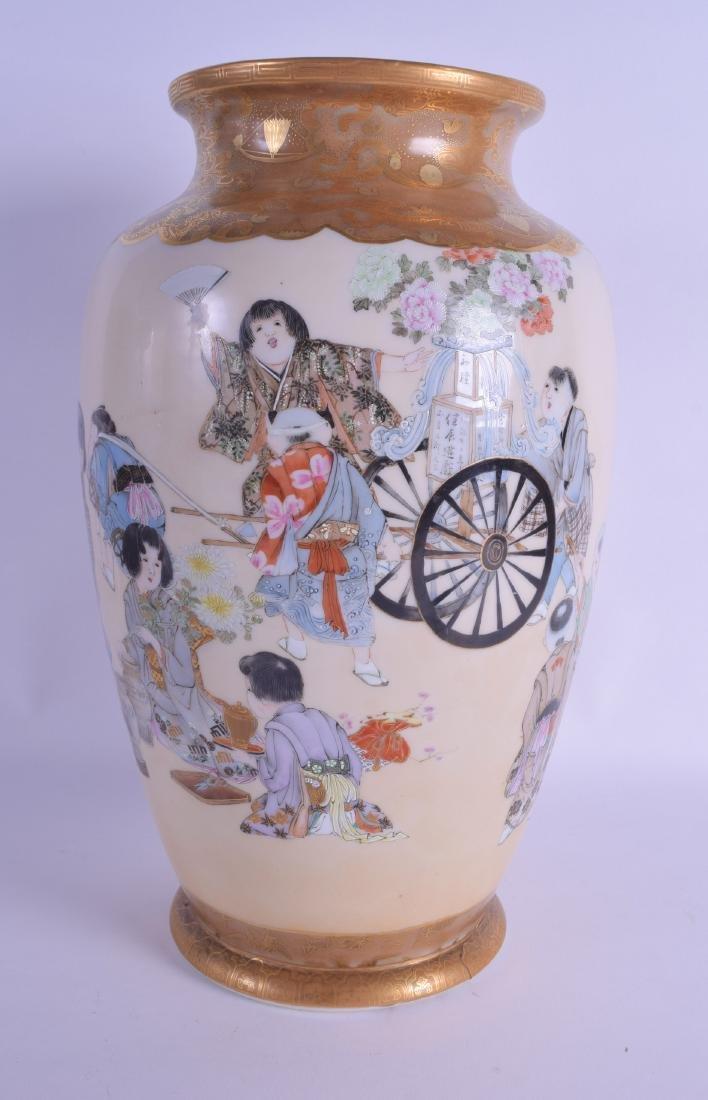 A GOOD 19TH CENTURY JAPANESE MEIJI PERIOD PORCELAIN