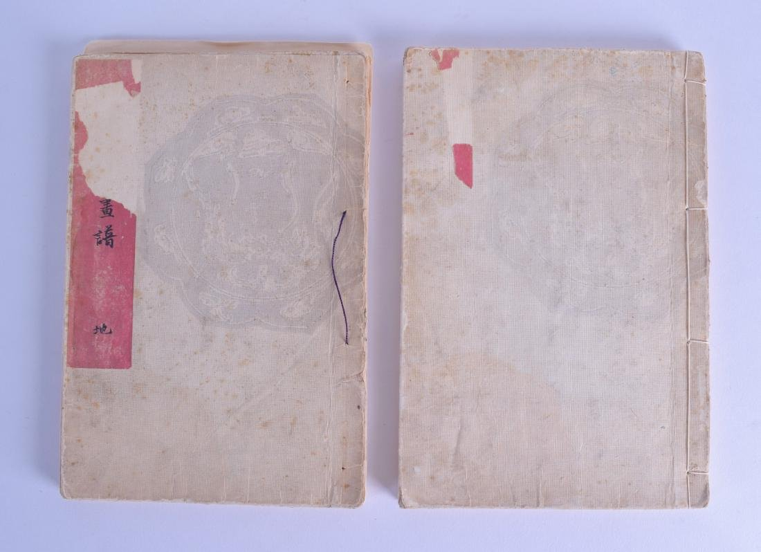 TWO LATE 19TH CENTURY JAPANESE MEIJI PERIOD WOOD BLOCK