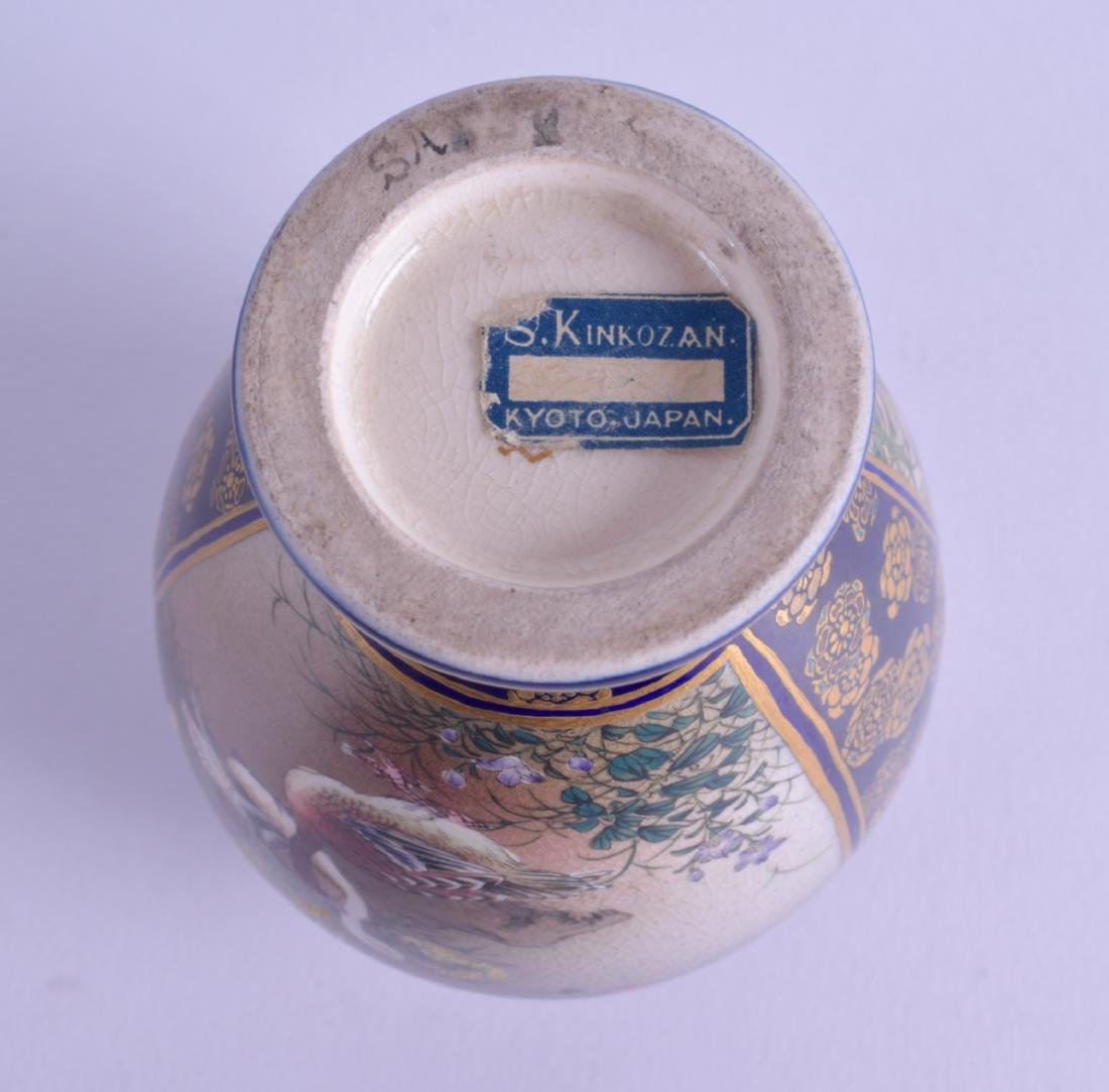 A LATE 19TH CENTURY JAPANESE MEIJI PERIOD SATSUMA VASE - 3