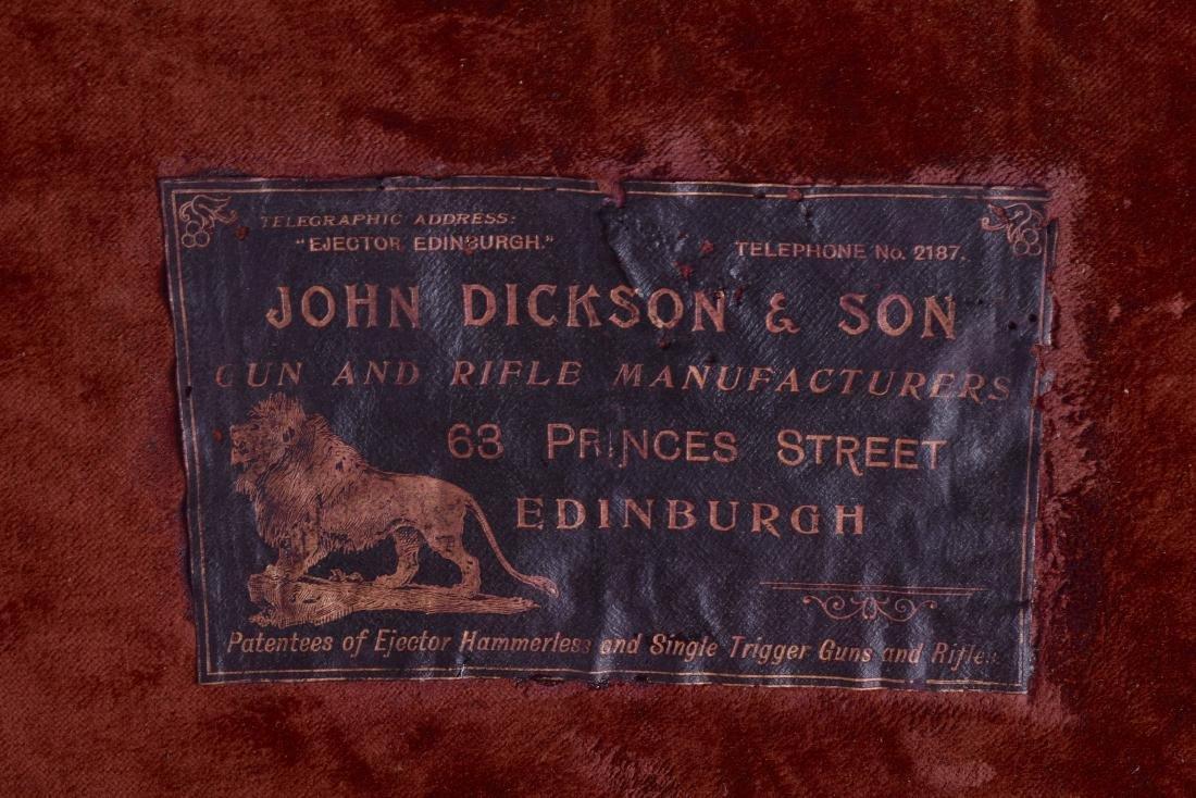 A GOOD ANTIQUE CARTRIDGE CASE by John Dickson & Son - 4