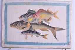 A GOOD SET OF TWELVE 19TH CENTURY CHINESE SUNQUA STUDIO