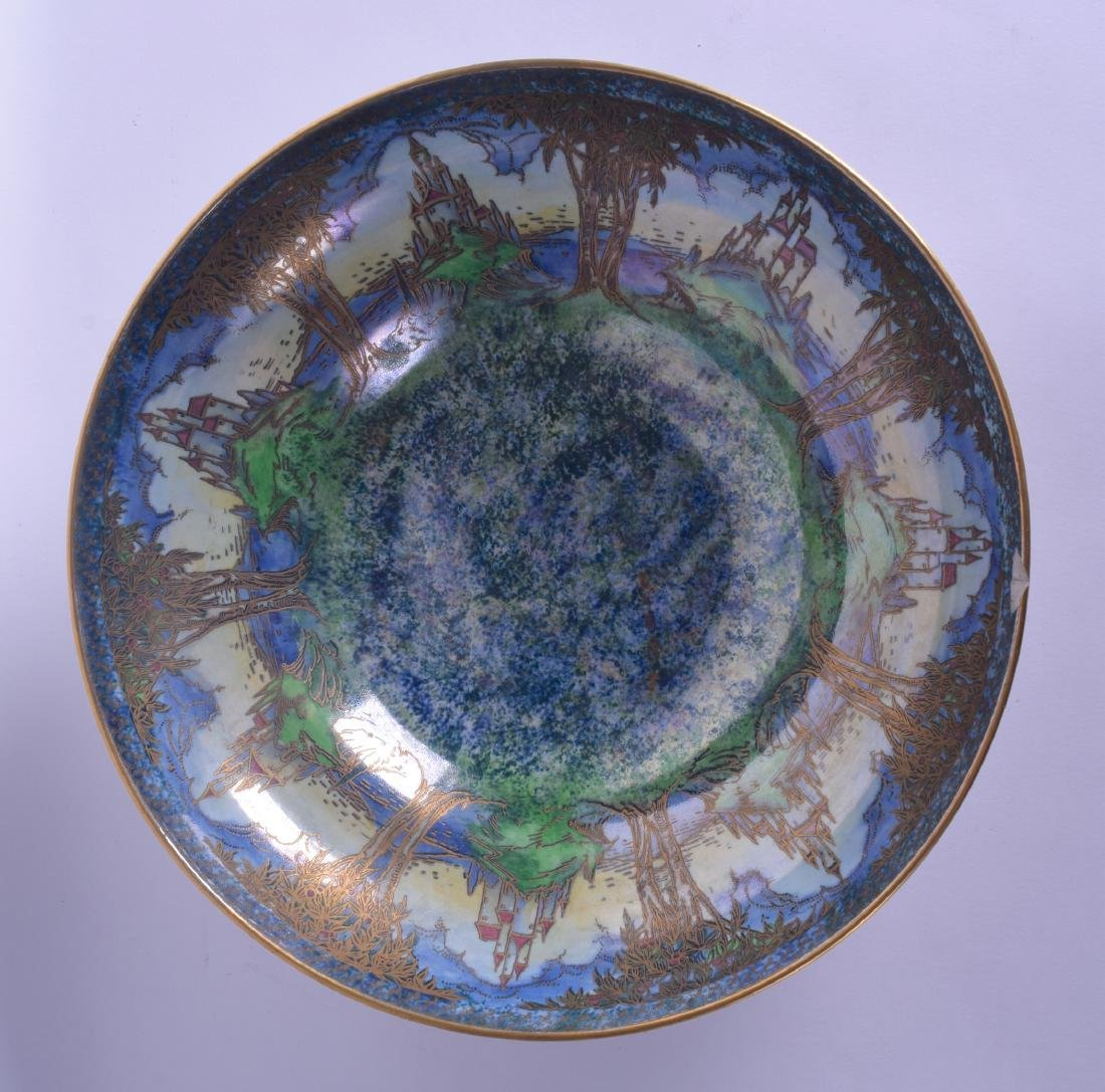 A LARGE AND UNUSUAL ROYAL WORCESTER CROWN WARE LUSTRE - 3