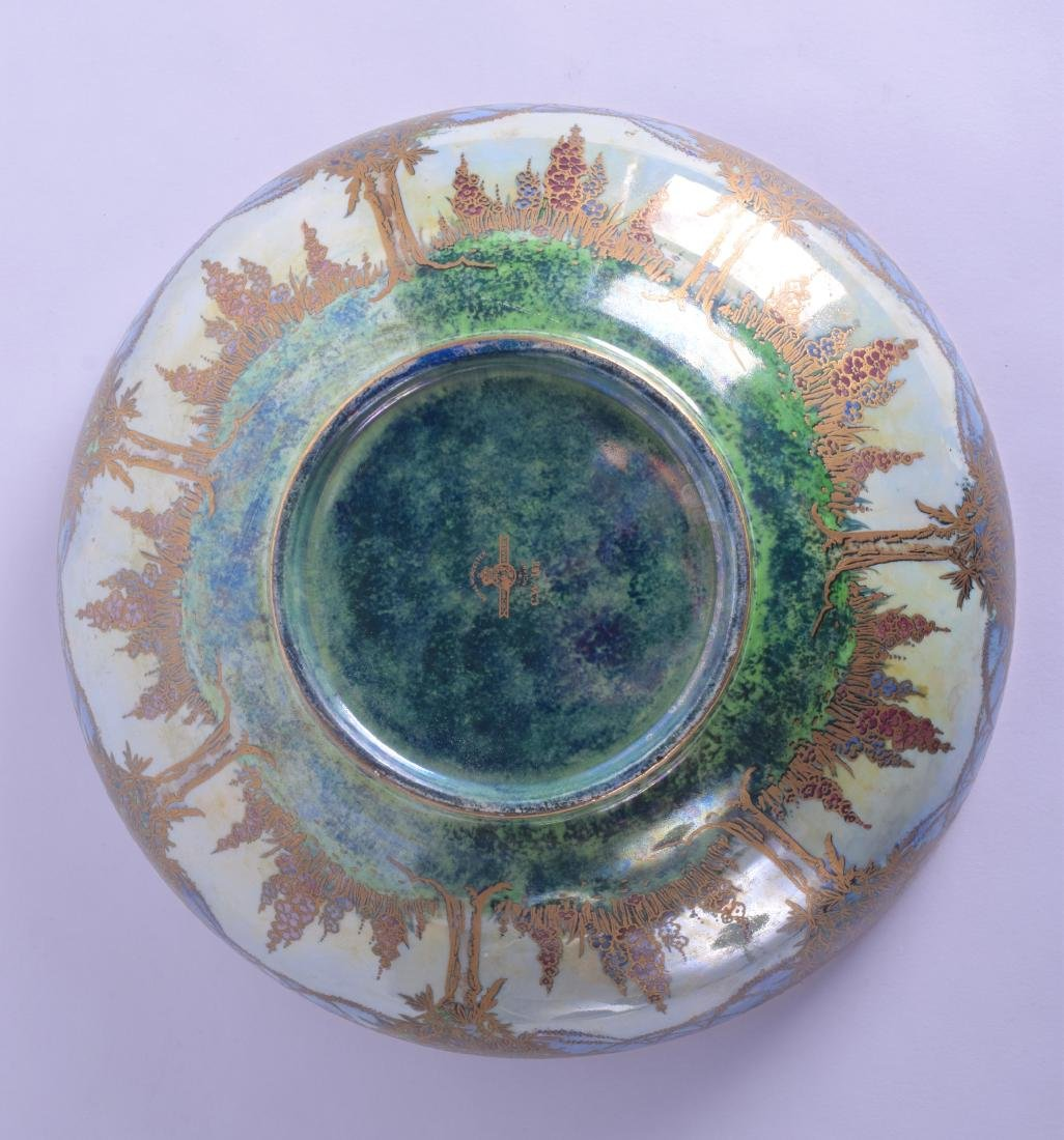 A LARGE AND UNUSUAL ROYAL WORCESTER CROWN WARE LUSTRE - 4
