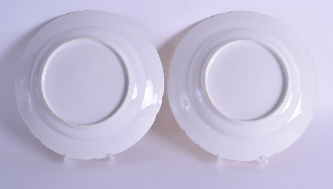 19th c. Paris Porcelain topographical plates painted - 2
