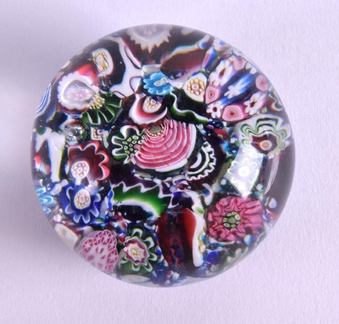 A 19TH CENTURY FRENCH CLICHY SCRAMBLE PAPERWEIGHT - 3