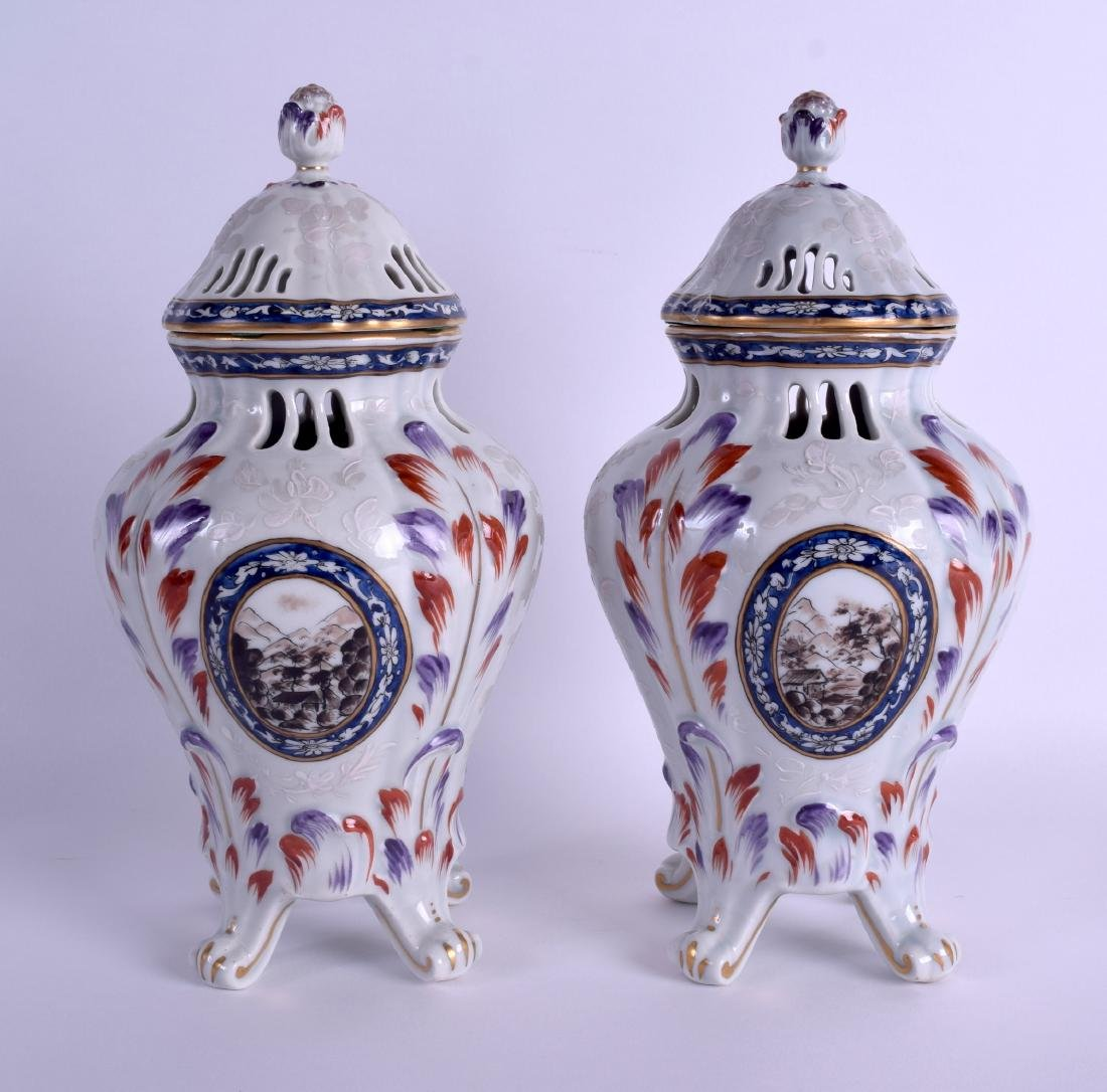 A PAIR OF 19TH CENTURY FRENCH SAMSONS OF PARIS - 2