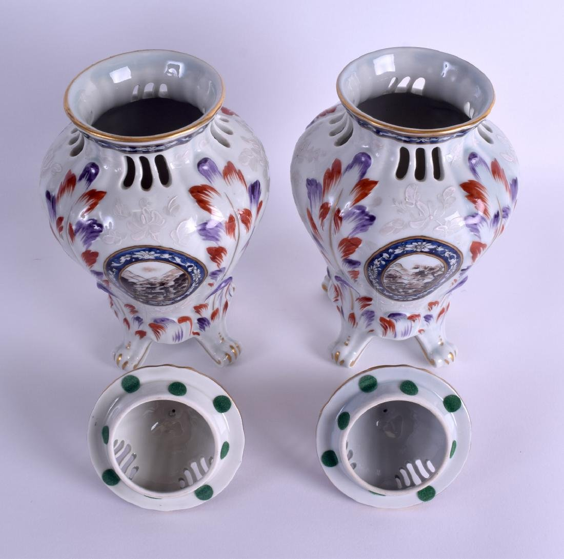 A PAIR OF 19TH CENTURY FRENCH SAMSONS OF PARIS - 3