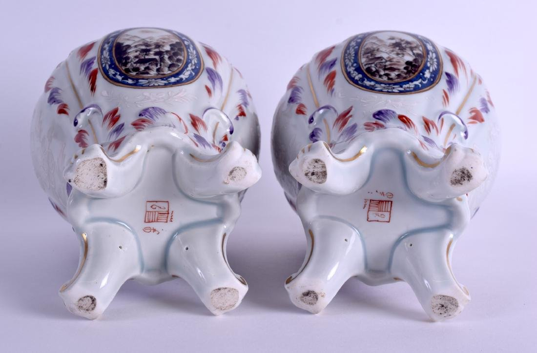 A PAIR OF 19TH CENTURY FRENCH SAMSONS OF PARIS - 4