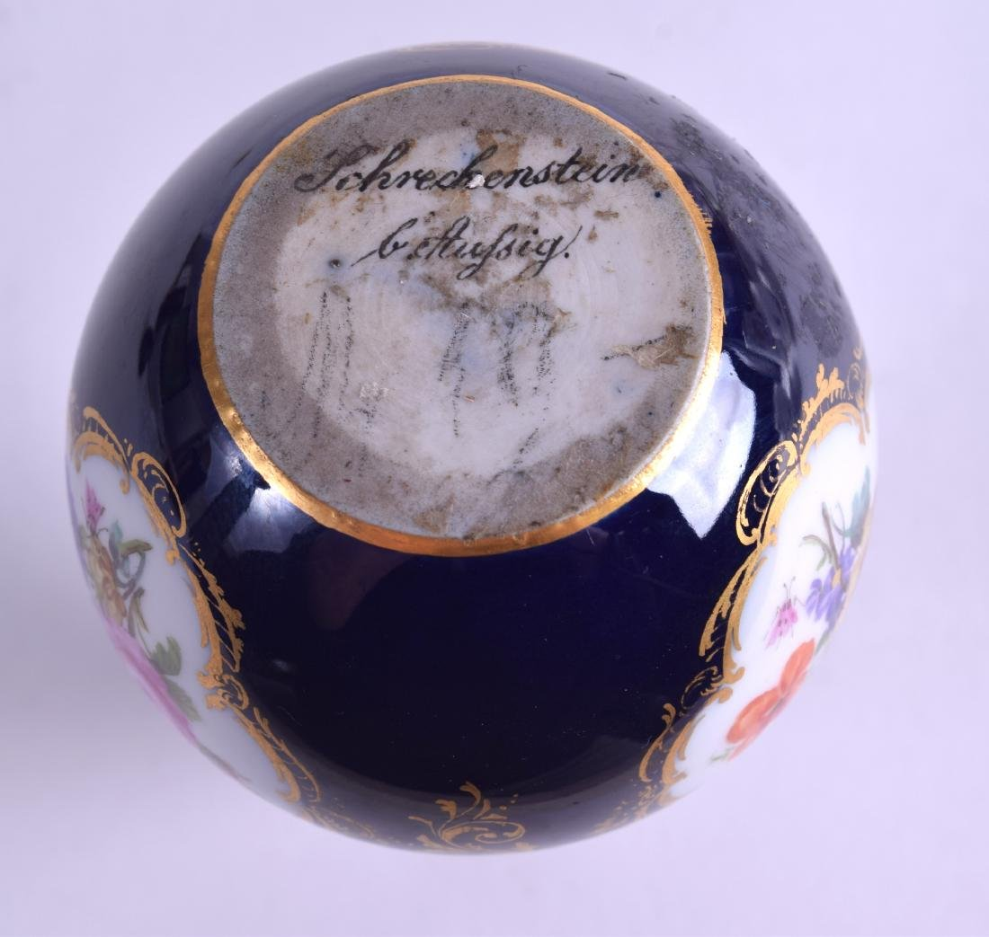 AN EARLY 19TH CENTURY MEISSEN PORCELAIN DOUBLE GOURD - 5