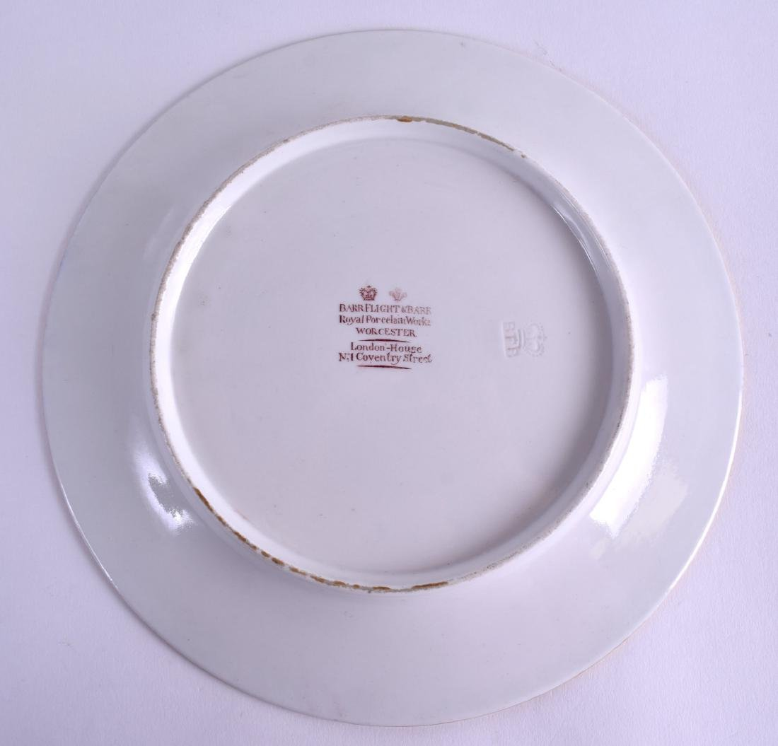 A GOOD EARLY 19TH CENTURY FLIGHT BARR AND BARR PLATE - 2