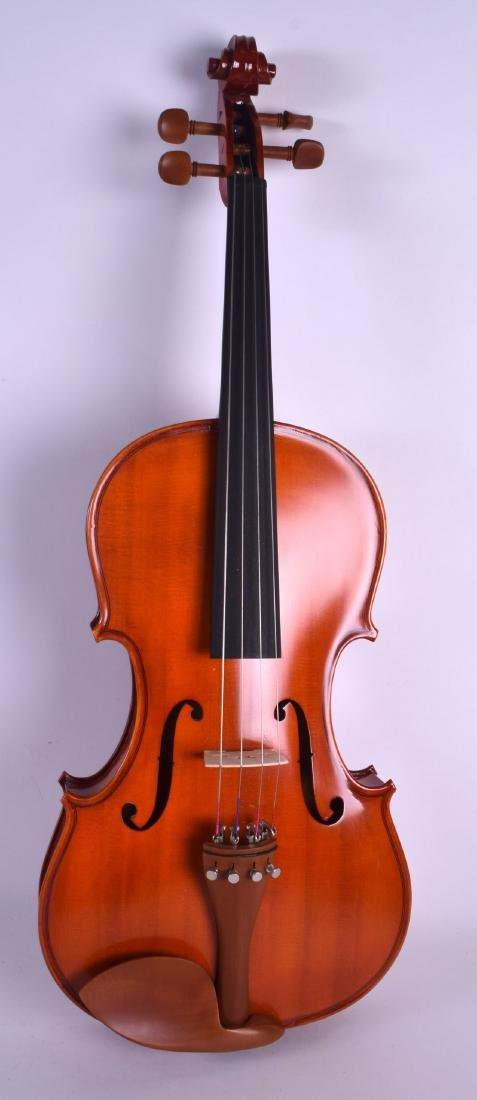 A MODERN GEAR 4 MUSIC DELUXE VIOLA within a fitted - 2