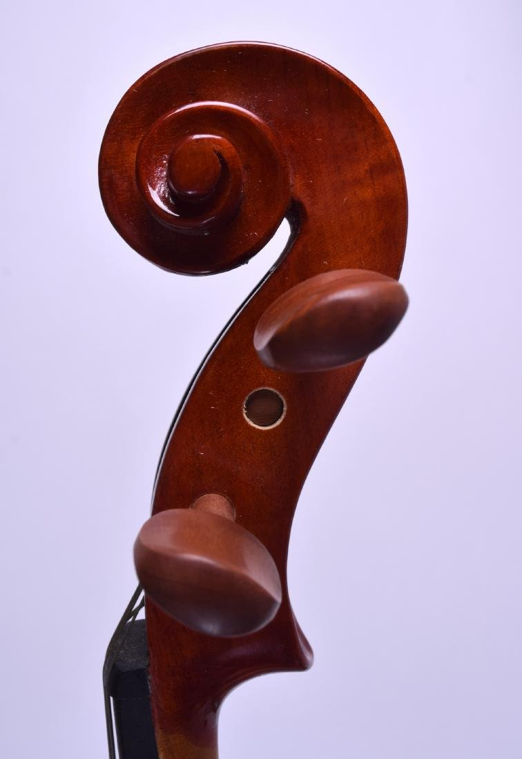 A MODERN GEAR 4 MUSIC DELUXE VIOLA within a fitted - 7