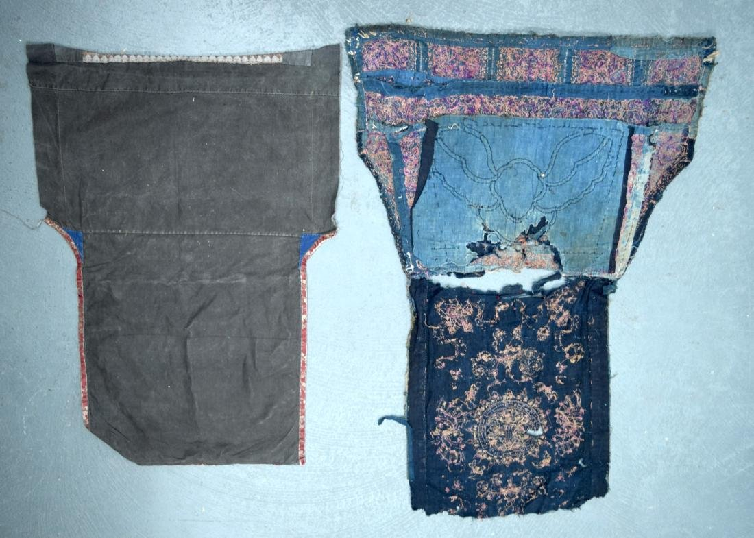 AN UNUSUAL GROUP OF 18TH/19TH CENTURY CHINESE SILK - 10