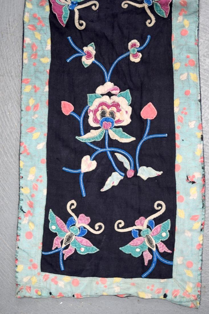 AN UNUSUAL GROUP OF 18TH/19TH CENTURY CHINESE SILK - 2