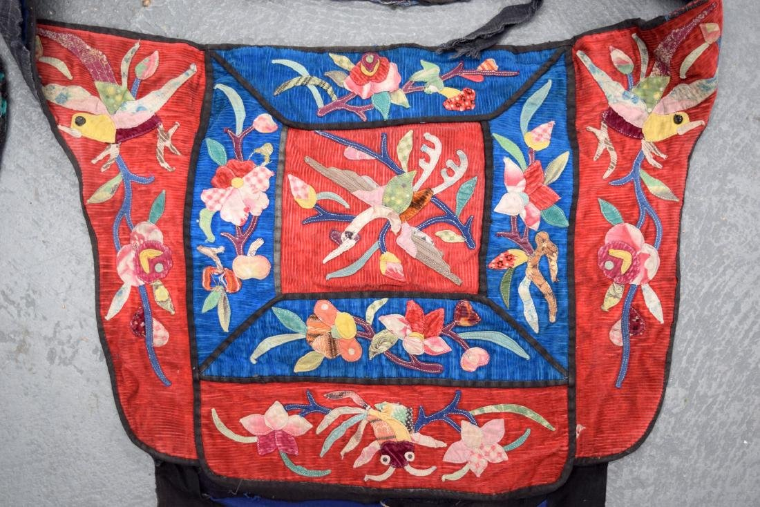 AN UNUSUAL GROUP OF 18TH/19TH CENTURY CHINESE SILK - 3