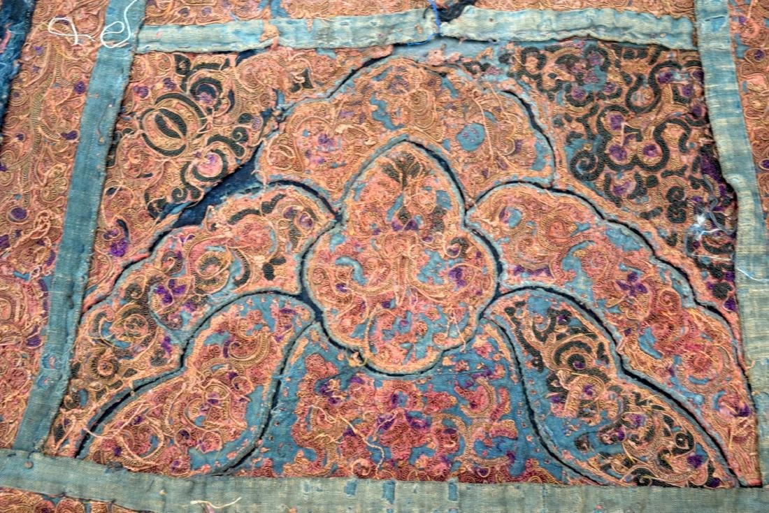 AN UNUSUAL GROUP OF 18TH/19TH CENTURY CHINESE SILK - 8