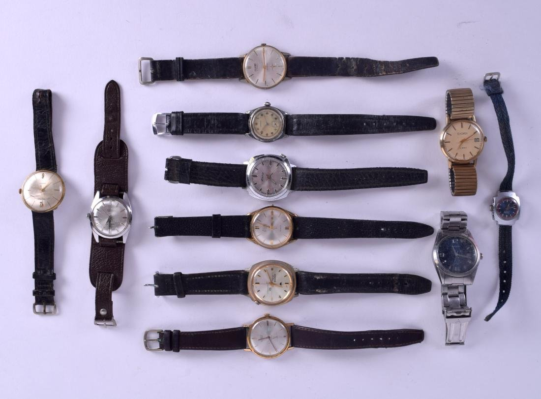 A COLLECTION OF VARIOUS WRISTWATCHES including