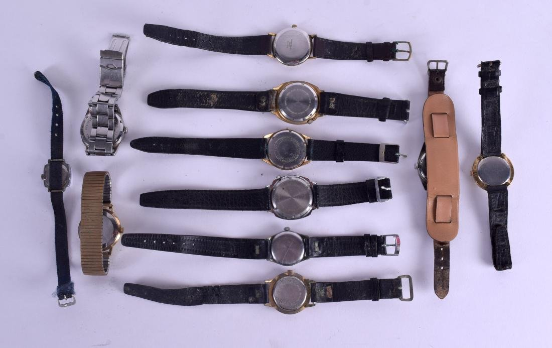 A COLLECTION OF VARIOUS WRISTWATCHES including - 2