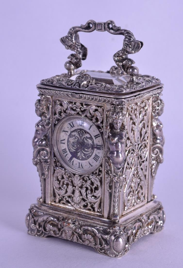 Miniature 19th Century French Silver