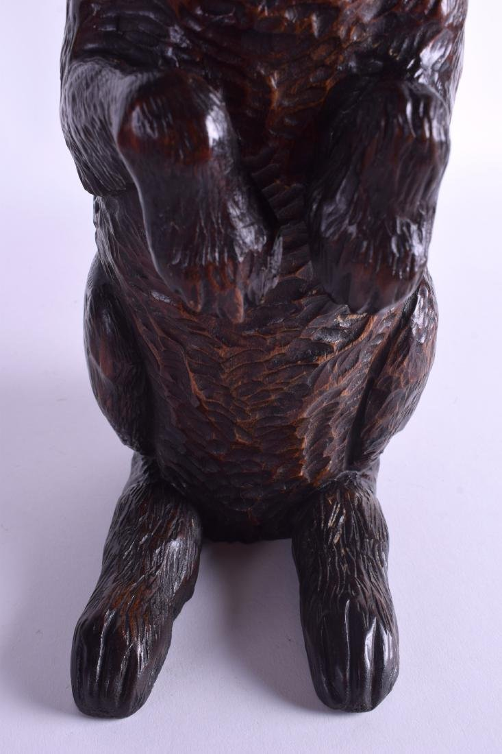 A VERY RARE 19TH CENTURY BAVARIAN BLACK FOREST TOBACCO - 7