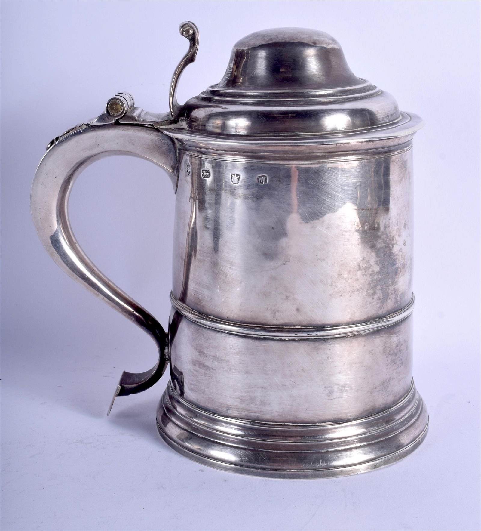 A GEORGE III SILVER STEIN. London 1807. 39.8 oz. 21 cm