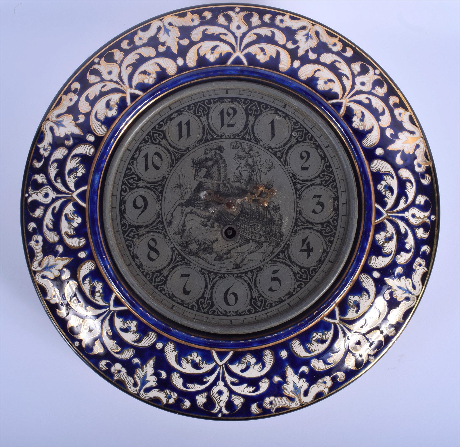 AN UNUSUAL 19TH CENTURY CONTINENTAL POTTERY FAIENCE