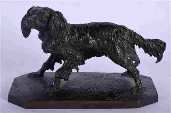 Pierre Jules Mene (1810-1879) French, Bronze study of a