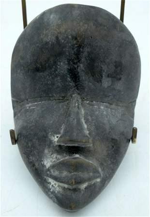 AFRICAN TRIBAL DAN MASK, IVORY COAST / LIBERIA.  19cm x