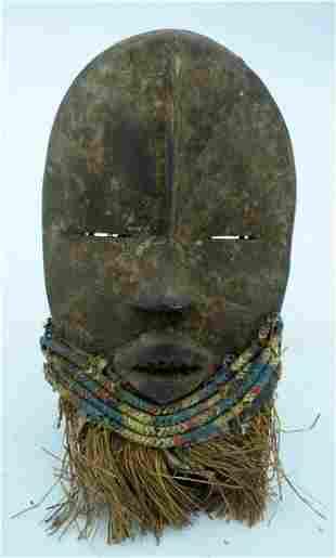 AFRICAN TRIBAL DAN MASK, IVORY COAST / LIBERIA.  28 cm