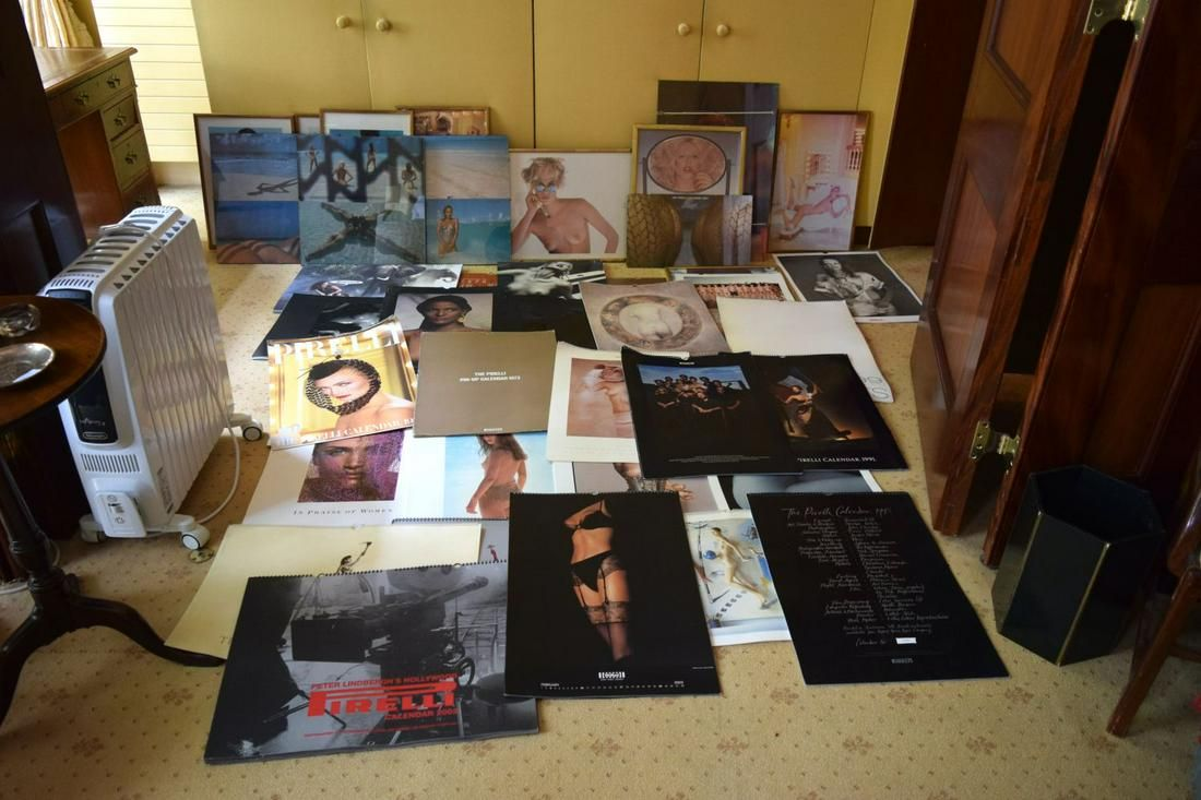 A Collection of Pirelli Calendars. (qty)