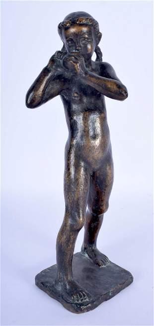 European School (C1900) F Barwig D J, Bronze, Female