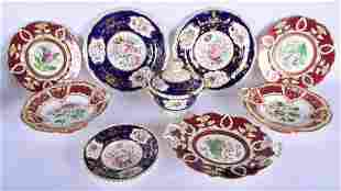 A COLLECTION OF EARLY 19TH CENTURY ENGLISH PORCELAIN