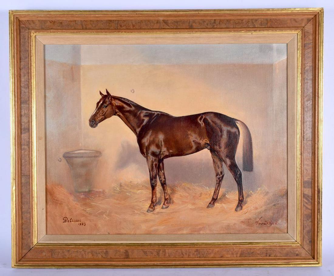 European School (C1923) Arabian Stallion, together with