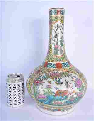 A LARGE 19TH CENTURY CHINESE FAMILLE ROSE STRAITS TYPE