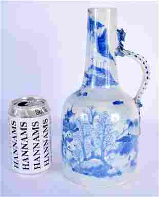 A RARE 18TH CENTURY CHINESE BLUE AND WHITE PORCELAIN