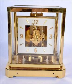 A JAEGER LE COULTRE ATMOS CLOCK No 141699. 24 cm x 18