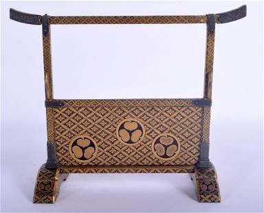 A FINE AND RARE 18TH CENTURY JAPANESE EDO PERIOD GOLD