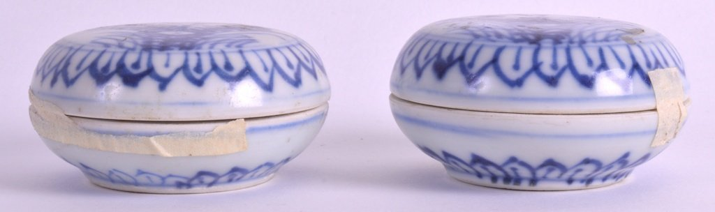 A PAIR OF EARLY 18TH CENTURY CHINESE CA MAU CARGO