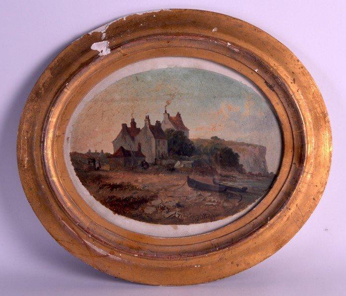E J D Pritchard (19th Century) British, Oil on paper,