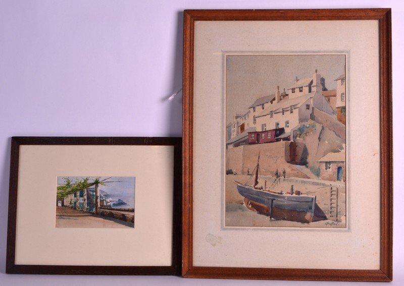 O Bedford (19th Century) British, Watercolour, 'Cornish