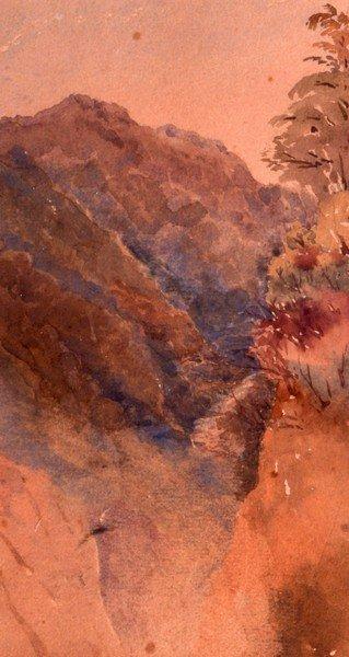 James Baker Pyne (1800-1879) British, Watercolour,