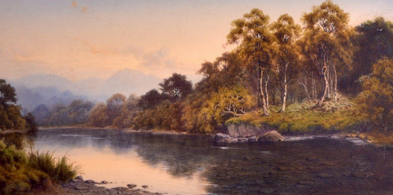 Donald A Paton (1886-1949) Scottish, Watercolour,