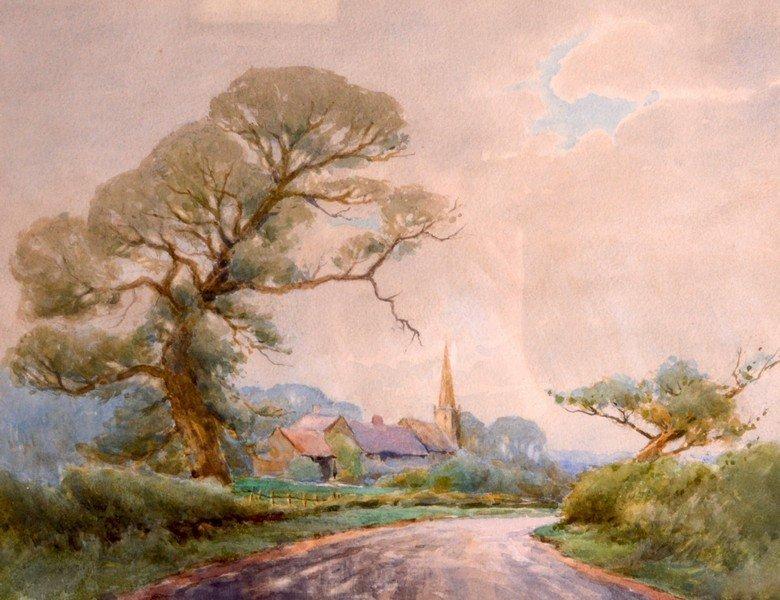 William Tatton Winter (1855-1928) British, Watercolour,
