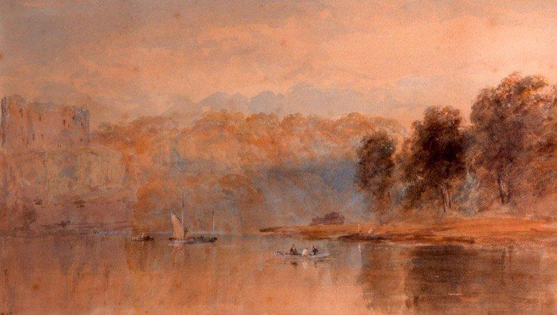 Edward Tucker (1825-1909) British, Watercolour,