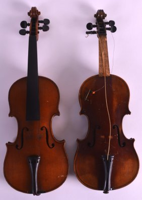 An Unusual Early 20th Century Italian Childs Violin