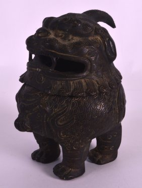 A Good 17th/18th Century Chinese Bronze Incense Burner