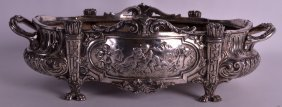 A Mid 19th Century Silver Plated Table Centre Piece Of