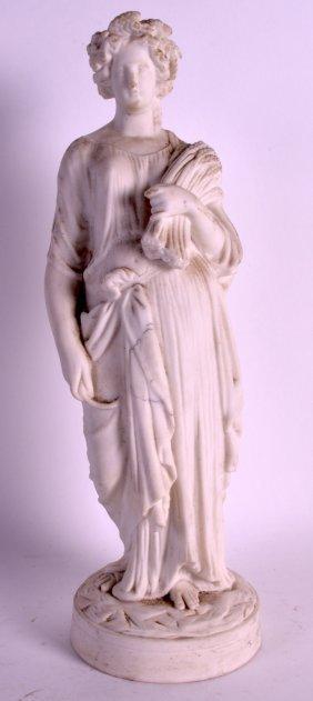 A 19th Century Parian Ware Figure Of A Classical Female
